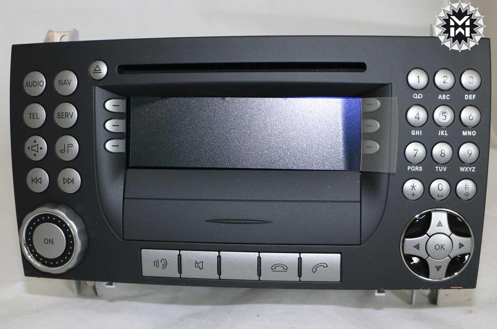 mercedes aps 50 ntg1 slk r171 a1718208189 navi cd spieler. Black Bedroom Furniture Sets. Home Design Ideas