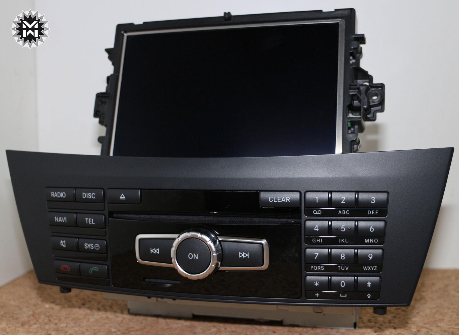 mercedes comand ntg 4 5 online dvd navigation c klasse. Black Bedroom Furniture Sets. Home Design Ideas