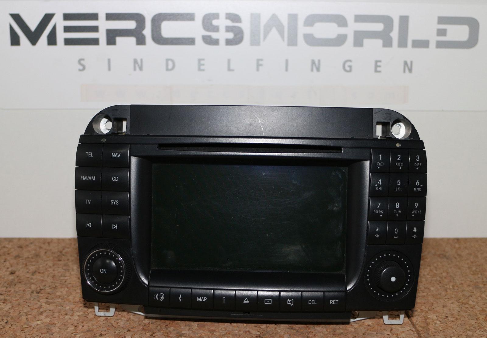 mercedes comand dvd aps 2 0 s klasse w220 cl c215. Black Bedroom Furniture Sets. Home Design Ideas