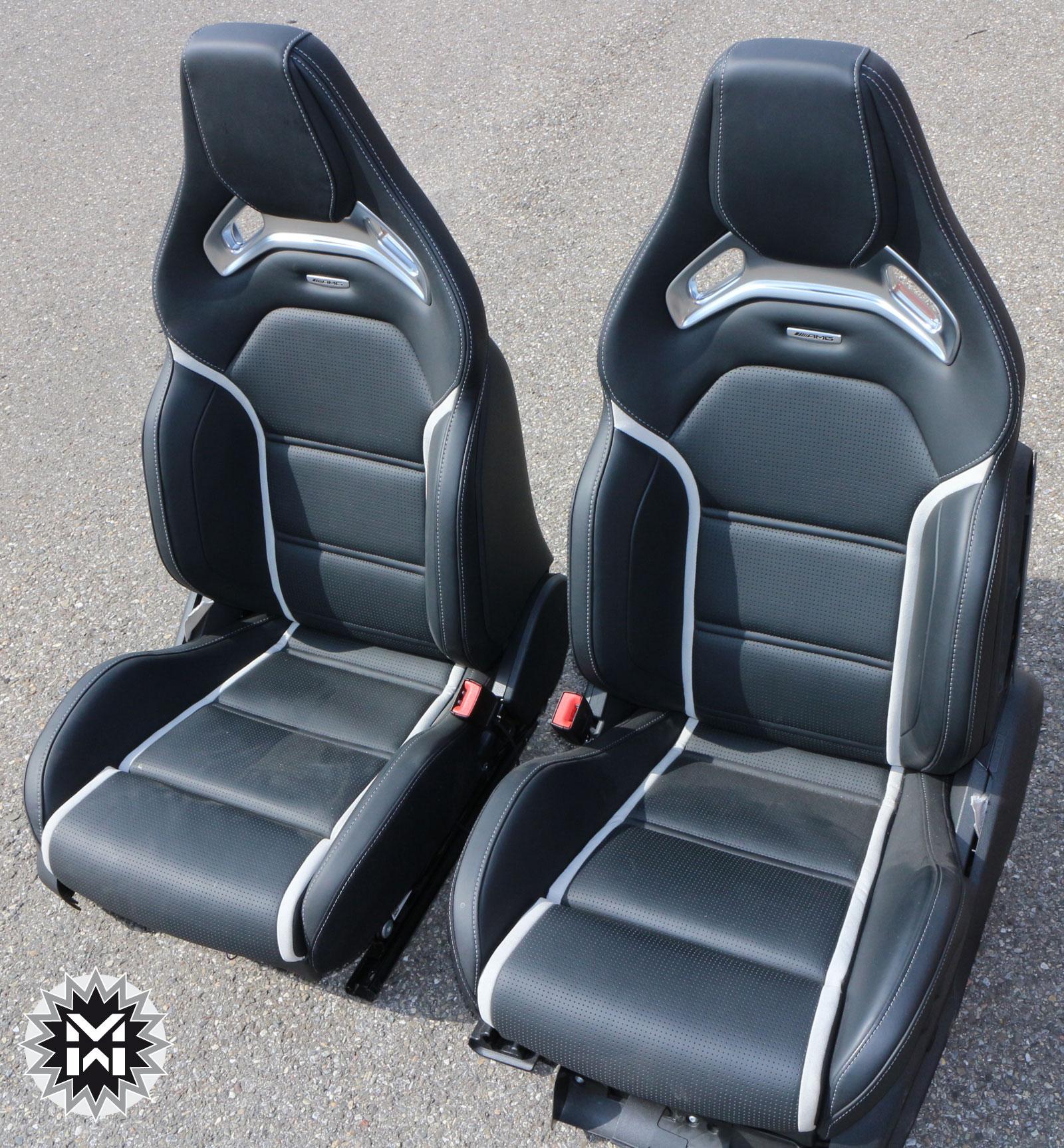 mercedes amg performance fahrersitz sitz leder c klasse w205 s205 63 amg ebay. Black Bedroom Furniture Sets. Home Design Ideas
